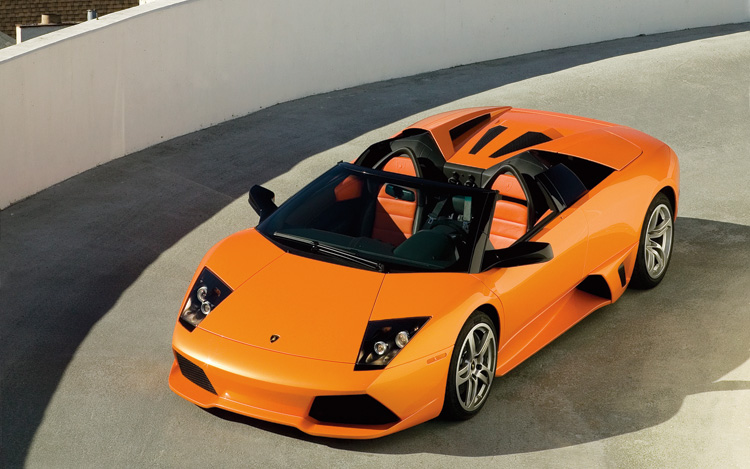 to be articulating about the Lamborghini Murcielago LP640 Roadster.